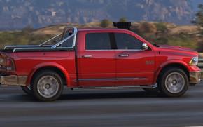 Картинка дорога, Dodge, Grand Theft Auto V