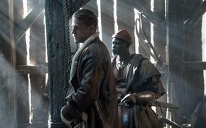 Картинка cinema, sword, man, movie, ken, blade, film, king, Charlie Hunnam, Djimon Hounsou, King Arthur: Legend …