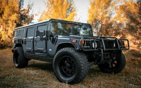 Обои wheels, Customized, KMC, black, matte, with, Hummer