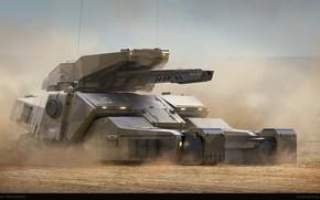 Обои танк, Juan Novelletto, arena, fulgora-20, орудие