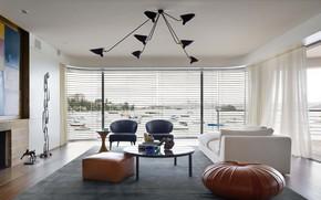Картинка комната, интерьер, гостиная, Harbour Front