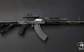 Обои автомат, AKM, кастом, assault Rifle, weapon, Калашников, Custom, АКМ, оружие