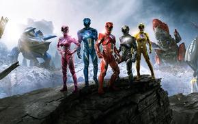 Обои Action, Fantasy, Power, the, Girls, EXCLUSIVE, Walt Disney Pictures, Movie, Rangers, Film, Adventure, Power Rangers, ...