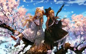 Картинка девочки, ангел, весна