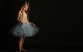 Картинка девочка, балерина, Meg Bitton