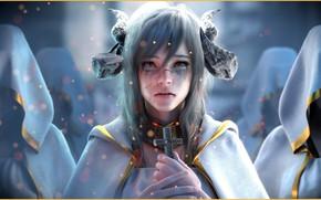 Обои Jay Choi, арт, A Demon Who Became a Priest, фэнтези, Fantasy