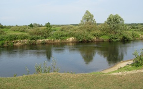 Картинка Река, Пейзаж, Снов