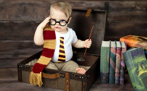 Картинка книги, мальчик, Гарри Поттер, палочка