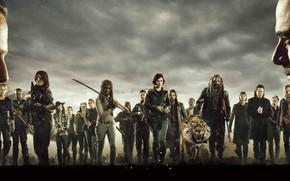 Обои Season 8, AMC, The Walking Dead