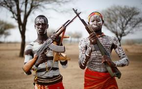 Обои оружие, армия, солдаты, Ethiopia