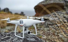 Картинка technology, drone, high technology, quadcopter, high tec, dji phantom