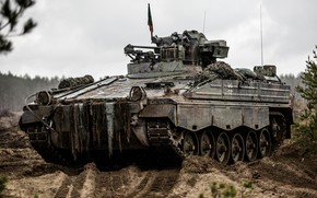 Картинка боевая, Мардер, машина пехоты