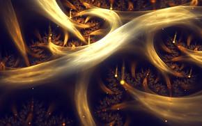 Картинка корни, компьютерная графика, Silvia Cordedda