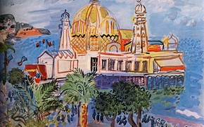 Картинка New York, 1929, Huile sur Toile, Raoul Dufy, CollectionPeter A. RБbel, The casino of Nice, ...