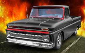 Картинка Chevrolet, 1965, CK Truck