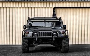 Обои Front, Hummer, Brutal