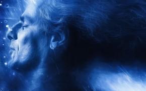 Картинка лицо, волосы, сон, мужчина