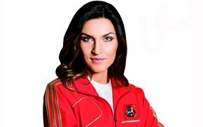 Картинка олимпийская чемпионка, Анна Чичерова, прыжки в высоту, чемпионка мира и Европы, 8-кратная чемпионка России