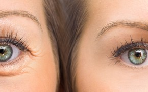 Картинка eyes, women, adult, youth, family, old age, generic information, inheritance
