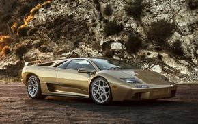 Обои Diablo, ламборгини, Lamborghini, суперкар, диабло
