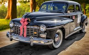 Обои Dodge, Sedan, Custom, 1946, D24