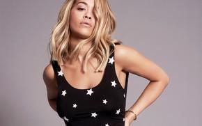 Обои взгляд, певица, Rita Ora