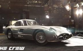 Картинка The Crew, Realistic Car Modeling, MERCEDES 300 SLR