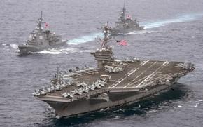 Картинка aircraft carrier, USS Carl Vinson, CVN 70