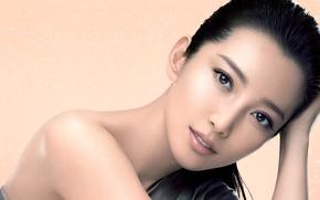 Картинка взгляд, девушка, актриса, girl, hair, look, actress, Ли Бинбин, Li Bingbing