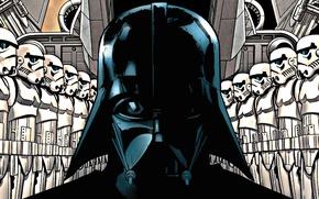Картинка star wars, darth vader, штурмовик, empire