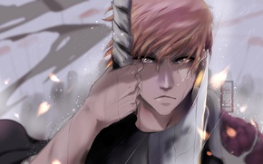 Картинка sword, game, Bleach, anime, ken, blade, Kurosaki Ichigo, manga, japanese, oriental, substitute shinigami, quincy, hollow, …