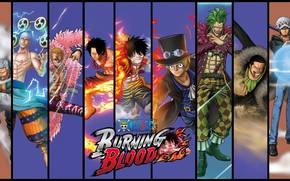 Картинка game, One Piece, anime, asian, manga, japanese, oriental, asiatic, powerful, strong, sugoi, One Piece: Burning …