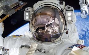 Картинка США, МКС, астронавт, НАСА, Терри Уэйн Вёртс