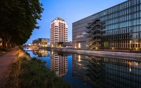 Картинка Франция, Страсбург, France, Strasbourg, Médiathèque André Malraux
