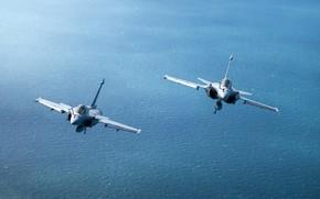 Картинка многоцелевой истребитель, французский, Dassault Rafale, Шквал