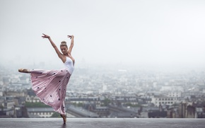 Обои Johanna Lorand Guilbert, танец, Париж, Франция, настроение, балерина