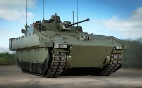 Картинка weapon, tank, armored, military vehicle, armored vehicle, armed forces, military power, war materiel, 081