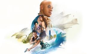 Картинка cinema, girl, Nina Dobrev, actor, man, movie, Vin Diesel, film, actress, Deepika Padukone, official wallpaper, …