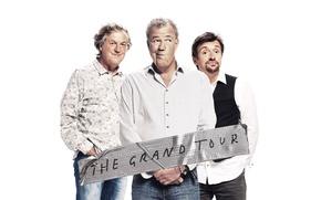 Картинка Jeremy Clarkson, сериал, Фильмы, Richard Hammond, James May, The Grand Tour, авто шоу, Гранд тур, ...