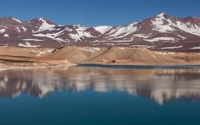Картинка Argentina, la Gruta, Laguna Verde, Catamarca