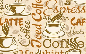 Обои Фон, Чашка, Текстура, Кофе