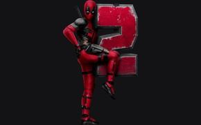 Обои Movie, Superheroes, Ryan Reynolds, Marvel Entertainment, Deadpool 2