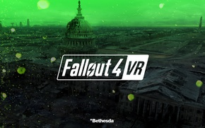 Картинка city, green, game, Fallout, Fallout 4 VR