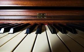 Обои музыка, пианино, фон