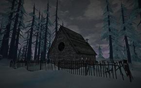 Картинка church, the long dark, Hinterland Studio