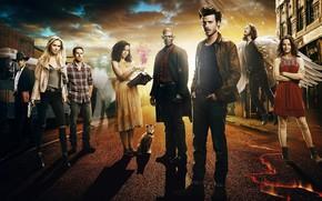Картинка demon, hitman, neko, cat, angel, supernatural, season one, witch, priest, shepherd, tenshi, medium, season 1, …