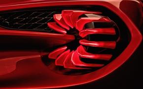 Картинка Concept, Aston Martin, концепт, астон мартин, Zagato, Vanquish, ванквиш, задняя фара