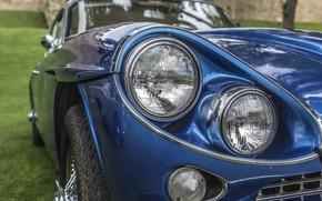 Обои фары, Gran Turismo, Jensen C-V8, Jensen C-V8 MKII, классика, ретро