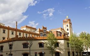 Картинка Здание, Испания, Барселона, Spain, Building, Barselona
