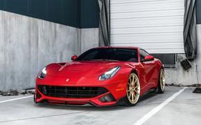 Картинка Ferrari, F12, Wheels, ANRKY